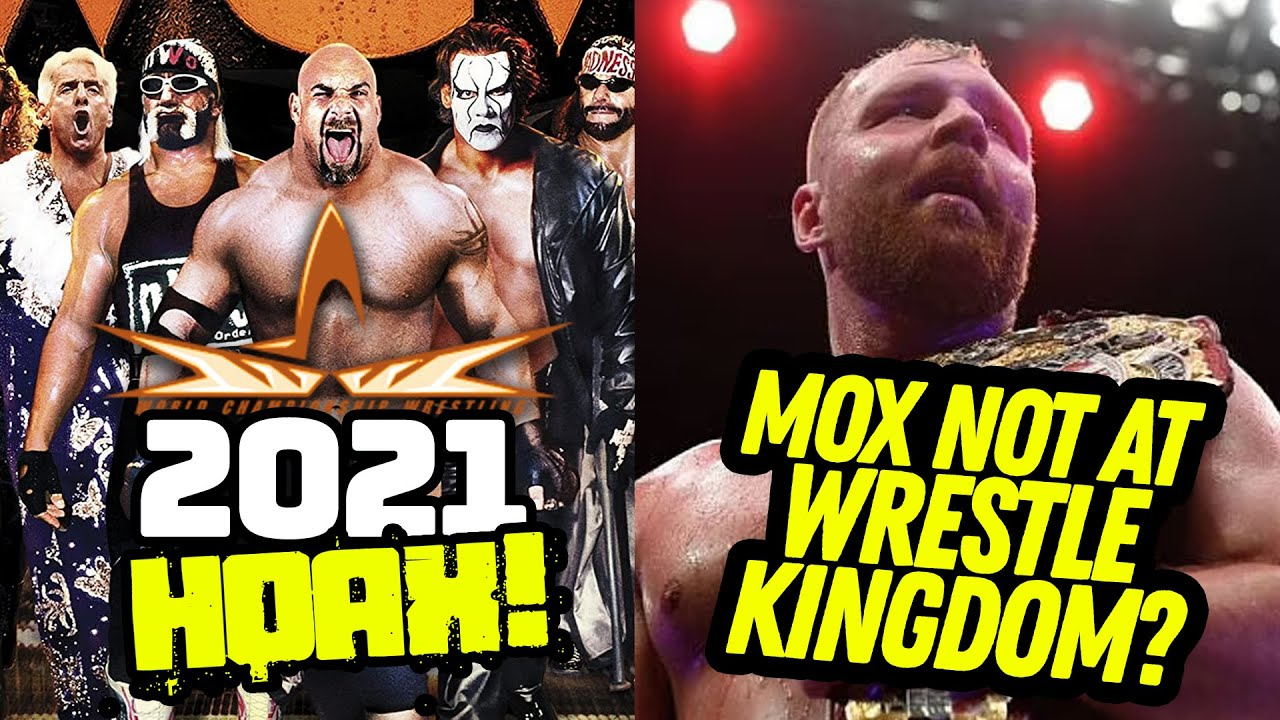 WCW 2021 Hoax | Mox WON'T Be At Wrestle Kingdom? | RIP Pat Patterson | Pro Wrestling News Brief