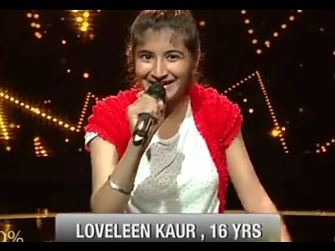 Katiya karoon tera roop Loveleen Kaur voice of punjab ki winner ki rising start 2017 best preforme