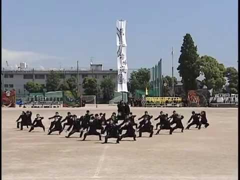 刈谷高校  挧龍団(応援団  超オススメです)
