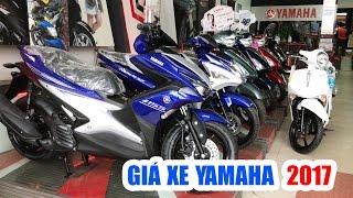 Giá xe máy Yamaha cập nhật Tết Nguyên Đán 2017 ▶