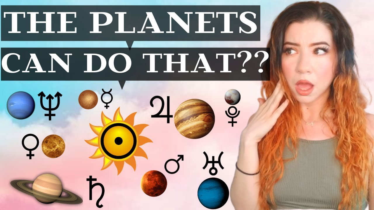 What the planets mean astrology planet