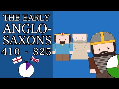 Ten Minute English and British History #03 -The Early Anglo-Saxons (Short Documentary)