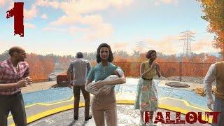 Fallout 4 Прохождение на русском 1 - Убежище 111
