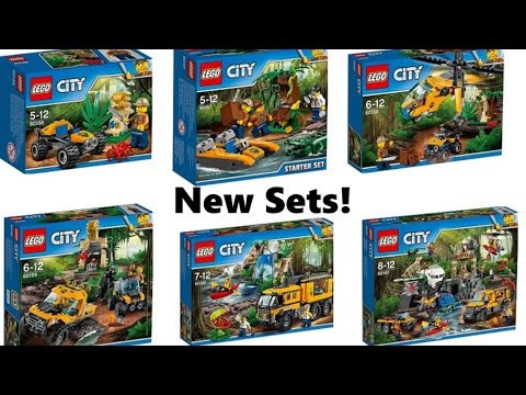Lego City Jungle Original Set Pictures 2017