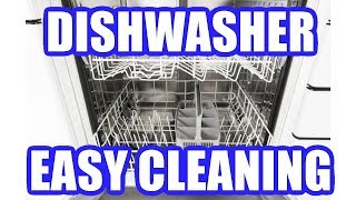 How to Clean a Dishwasher with Vinegar and Baking Soda Easily
