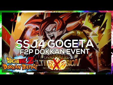 F2P Guide: NO STONES! SSJ4 Gogeta Dokkan Event! Super2 - 50 STA   DBZ Dokkan Battle