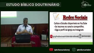 ESTUDO BÍBLICO - A ESCRITURA SAGRADA