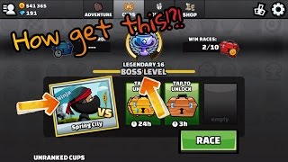 Hill Climb Racing 2 how to get on the Boss level and perhaps the Ninja skin!!!