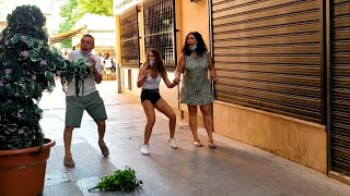 The day of the branch. Bushman Prank