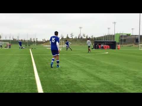 College Soccer Recruitment Video - Nicholas Calvin