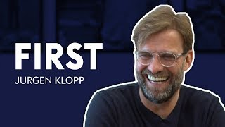 Does Jurgen Klopp remember his FIRST goal?! | Jurgen Klopp | First