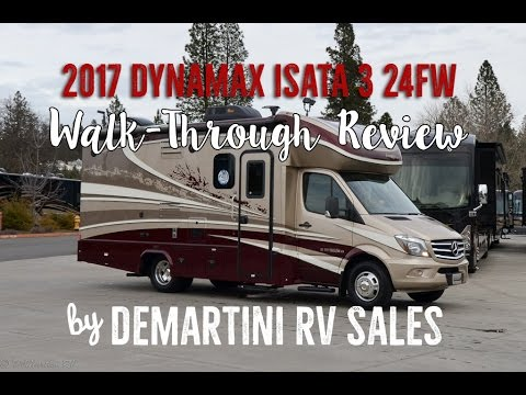 2017 Dynamax Isata 3 24FW Full Review Walk-Through Video