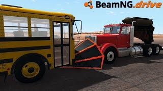 BeamNG.drive - 3000hp ROCKET TRUCK