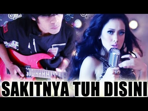 CITA CITATA - SAKITNYA TUH DISINI Gitar Cover Versi Disco Rock By Mr. Jom