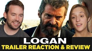 Logan official trailer #1 reaction & review
