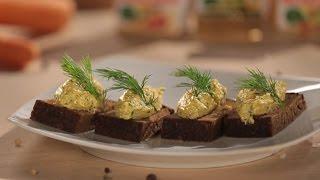 Закуска сирна з оселедцем – проста та смачна страва до святкового столу