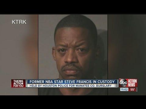 Former NBA Star Steve Francis in custody