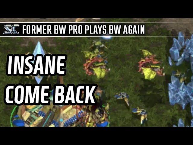 Insane Come back against Zerg l StarCraft: Brood War l Crank