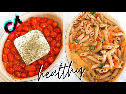 Feta Pasta Made Healthy | Viral TikTok Recipe
