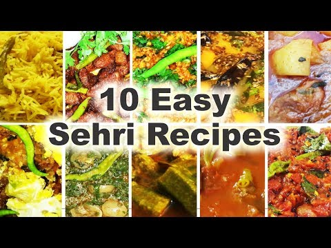 10 Easy Sehri Recipes – Ten Ramadan Special Suhoor Dishes