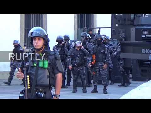 Brazil: Police deploy tear gas as lawmakers free arrested colleagues