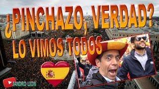 ¿Pinchazo, 45.000 personas?... ¡Yaaa! Lo mostramos. ¡VIVA ESPAÑA! Plaza de Colón. Jandro Lion.