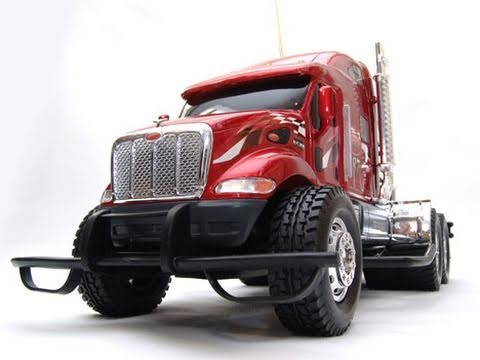 New Bright Peterbilt 387 Semi Truck Rc Mania Youtube