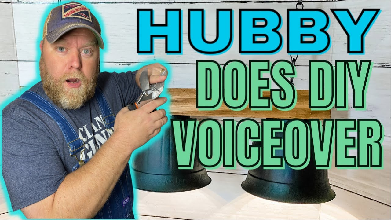 OH BOY! 😳 HUBBY Does My DIY VOICEOVER!  |  Mr. Cheap is back!