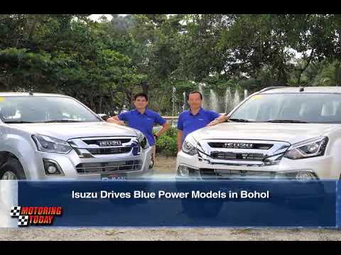 Isuzu Drives Blue Power Models in Bohol   Industry News