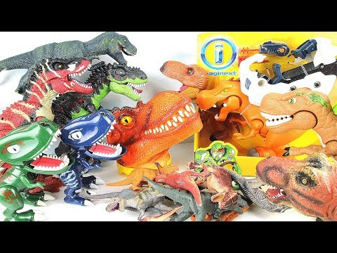 50++ Tyrannosaurus T-Rex Dinosaurs Collection Toy! Learn Dinosaurs with Jurassic world Walking Toys