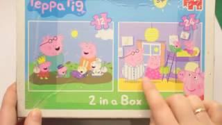 Свинка Пепа пазл для детей + рисовалка Рисуем Сюзи и Ричерда