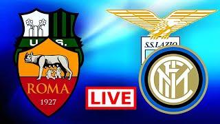 Sassuolo-roma 0-1 & lazio-inter 2-3 in diretta live!!