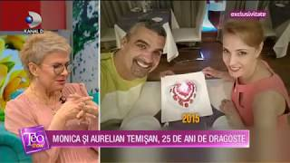 Teo Show (24.01.2020) - Monica si Aurelian Temisan, 25 de ani de dragoste!