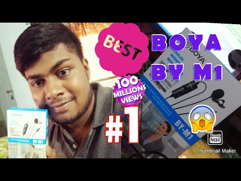 Best Budget Mike For Youtube Beginners/Amazon.com/Boya BY M1