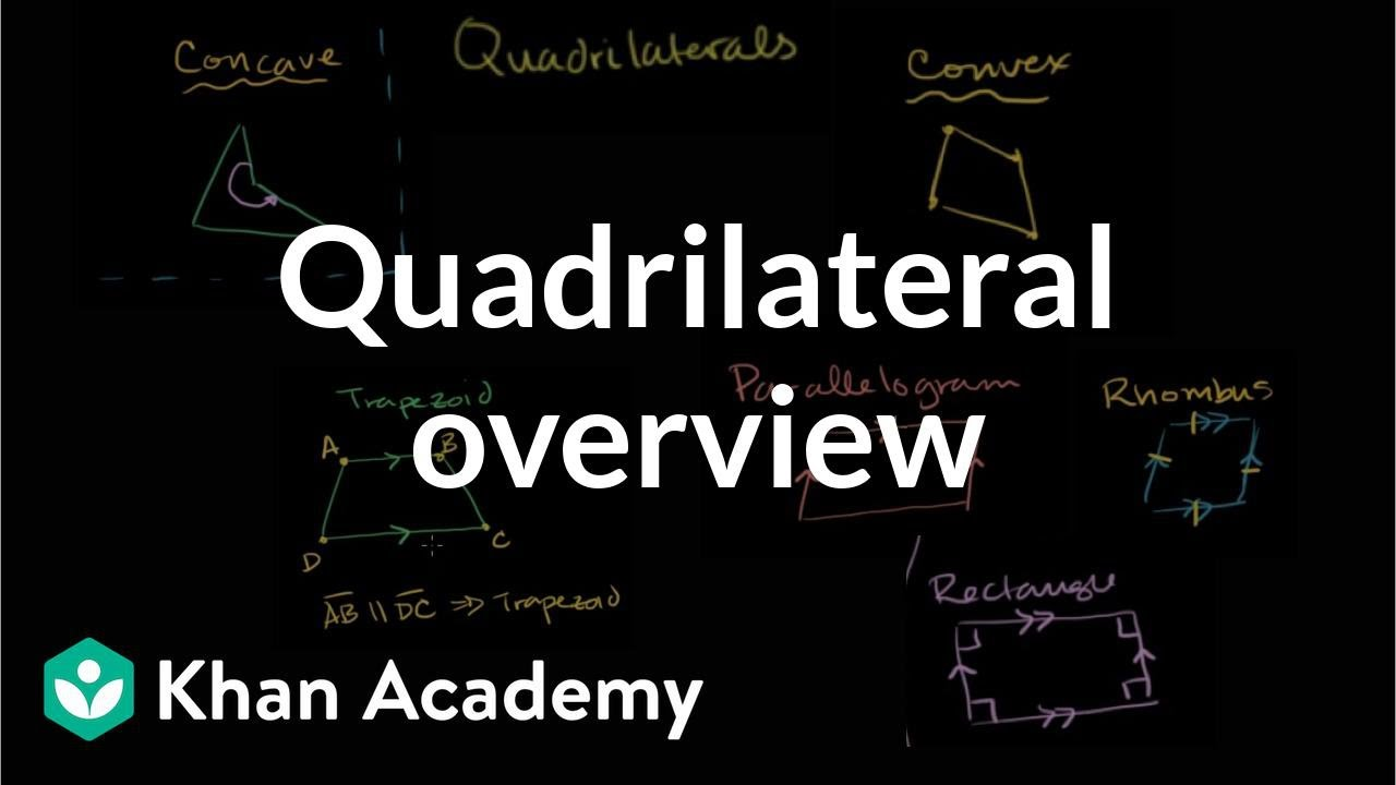 medium resolution of Intro to quadrilateral (video)   Khan Academy