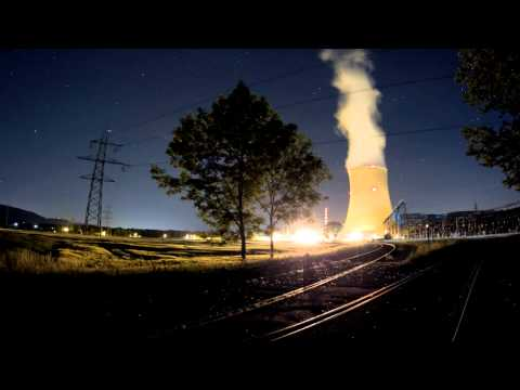 Timelapse: Helvetia by Night - NUCLEAR POWER - Switzerland
