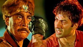 सनी देओल जब कातिया से भीड़ गया | घातक हिंदी मूवी | डैनी डेंजोंगप्पा, मीनाक्षी शेषाद्रि