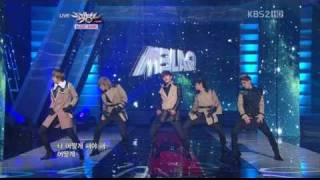 110114 music bank mblaq cry stay avi