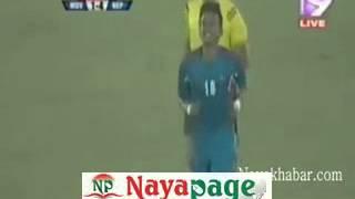 Nepal Vs Maldives  Bangabandhu Gold Cup 2016 (Highlights) streaming at Dhaka