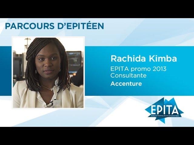 Parcours d'Epitéen - Rachida Kimba (promo 2013) - Accenture