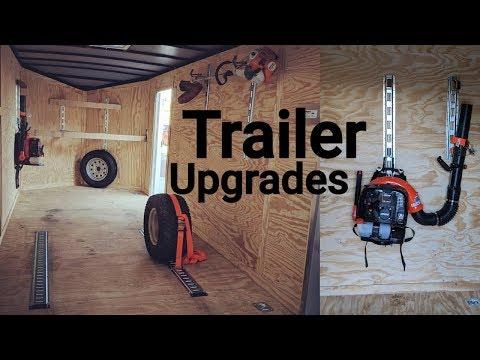 Enclosed Trailer Upgrades