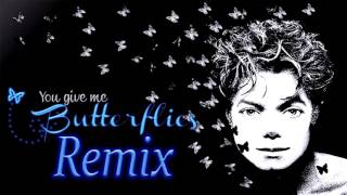 "Micheal Jackson ""Butterflies"" 