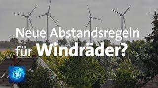 Neue Abstandsregeln für Windkraft-Anlagen geplant