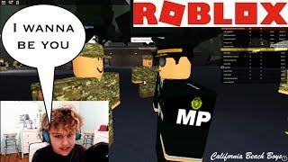"""ROBLOX ADVENTURES WITH MARLOTHEMAN """" I WANNA BE AN MP"""""""