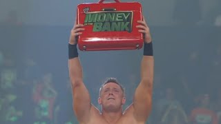 The Miz wins the Money in the Bank contract