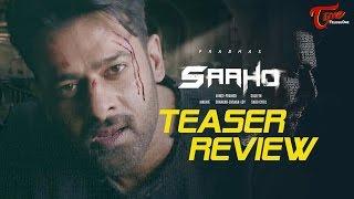 SAAHO Teaser Review   Prabhas, Sujeeth   #Saaho