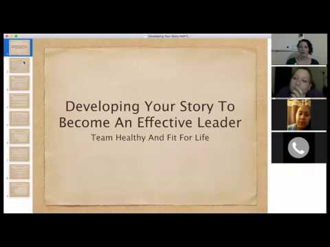 Developing Your Story To Become An Effective Leader