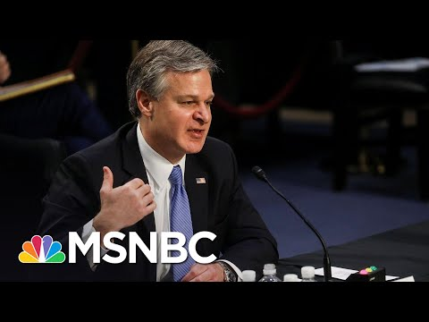 FBI Director Wray: 'We Have Not To Date Seen Any Evidence' Of Antifa Connection To Capitol Riot