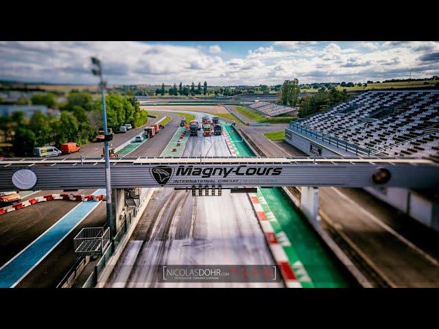 Vidéo : La rénovation de la piste du circuit de Nevers Magny-Cours.