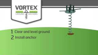 Liberty Outdoor's Vortex 4x4 Ground Anchor And Mailbox Post